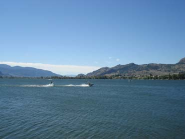 Osoyoos Lake Wakeboarder